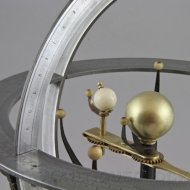 Antique french planetarium in the style of Charles Dien.