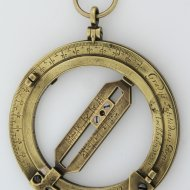 Early Dutch ring dial by Henricus Sneewins, Leiden. ca.1650 (he died 1658)