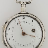 Antique decimal pocket watch, 'J. Hentschel, Colmar No 777'. montre décimal.