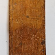 Antique topographic surveyors measuring stick or Chalonstick