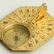 Antique sundial, signed 'N Bion a Paris'. ca. 1700