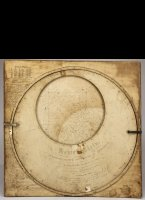 Hemelplein or planisphere. Paper on ca. 3.5 mm wood.