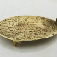 Rare dutch sundial from 1659 by I.D. Vos in Strien (Strijen)