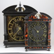 Hague Clock by Pieter Visbach (Pieter Visbagh) ca. 1670 (2 x 60 minuts)